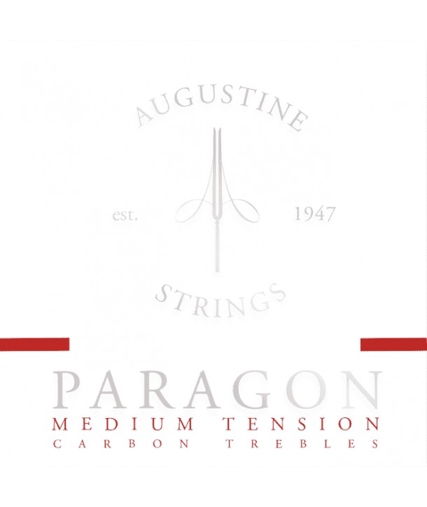Juego de Cuerdas clasica Paragon Red Medium tension