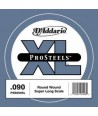 XL ProSteels Round Wound Single 90 super long scale