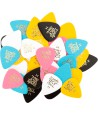 6-pack standard picks heavy mixed color