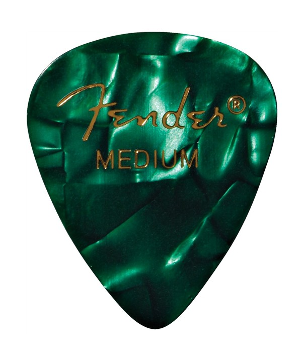 6 pack Fender 351 Shape Premium medium green moto