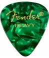 6 pack Fender 351 Shape Premium heavy green moto