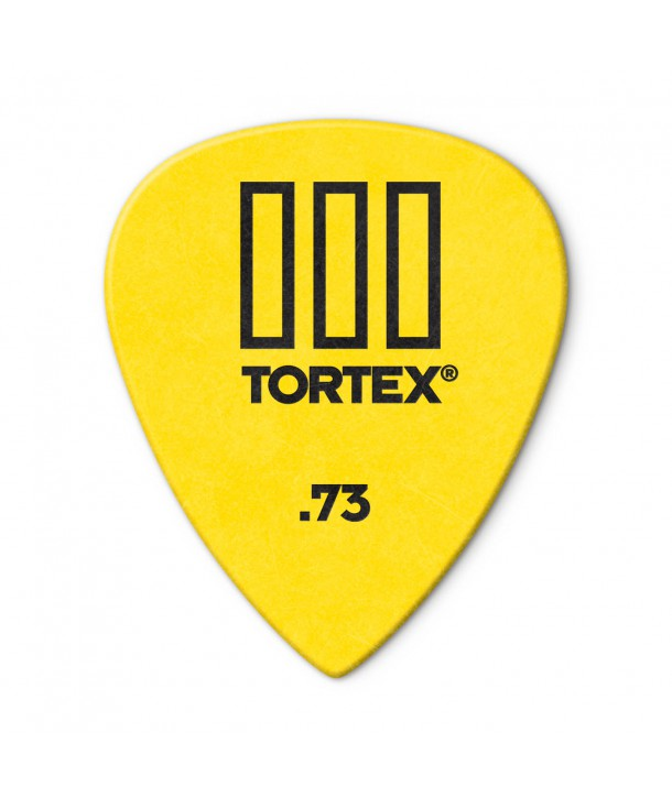 6-pack Tortex TIII picks 0,73mm