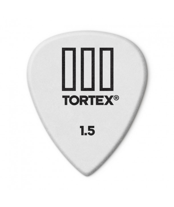 6-pack Tortex TIII picks 1,50mm