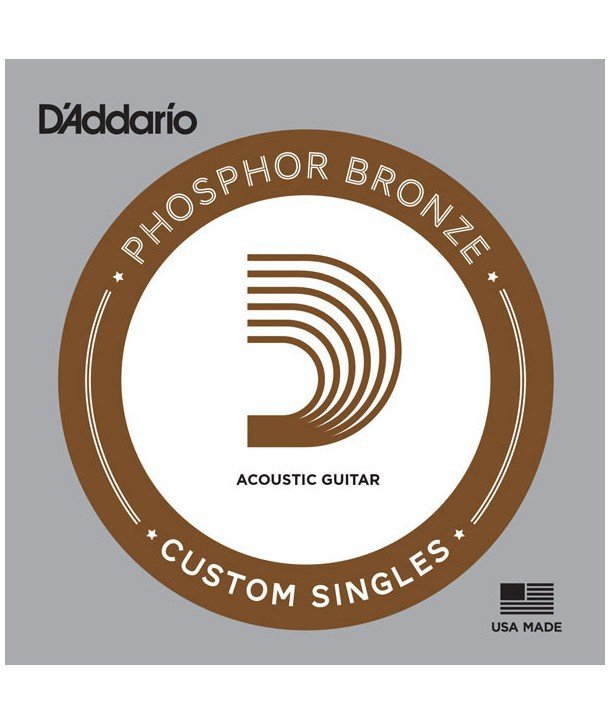 Acoustic single Phosphor Bronze wound 020