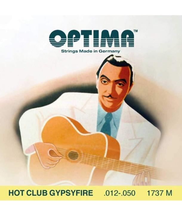 Acoustic Strings Set Loop end Hot Club Gypsyfire Medium 12-50