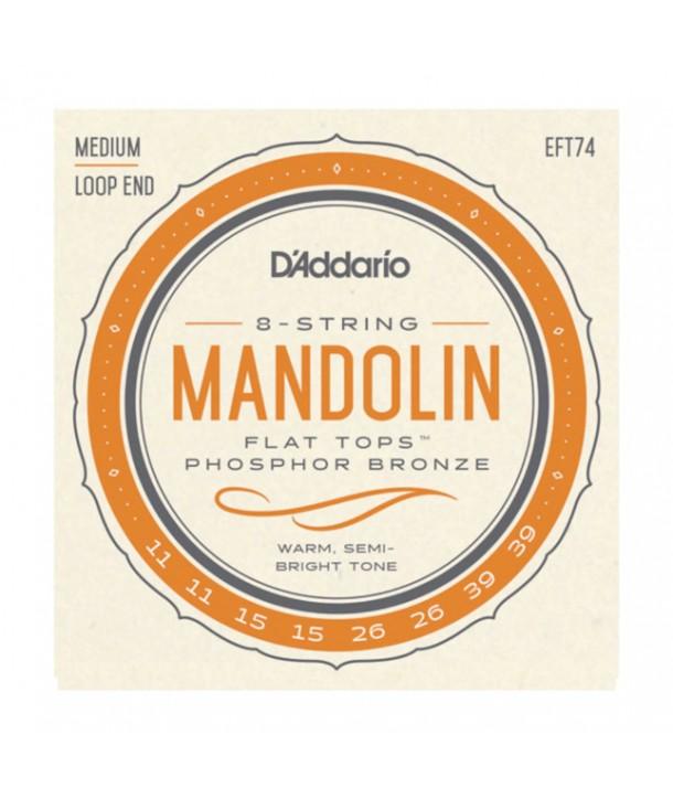 Jeu de cordes pour Mandoline Acoustique en phosphore bronze Bluegrass