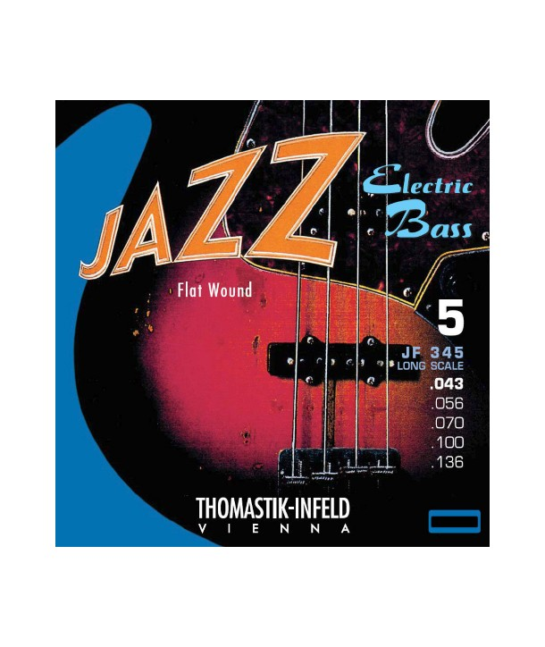 Bass Guitar String set Thomastik Infeld JAZZ Bass serie 43 - 136