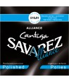Classic single string E-6th Cantiga polished silvered wound normal tension